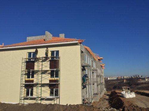 """Завершается строительство многоквартирного дома в мкр. """"Парус"""" ул. Лодочная, д. 14"""