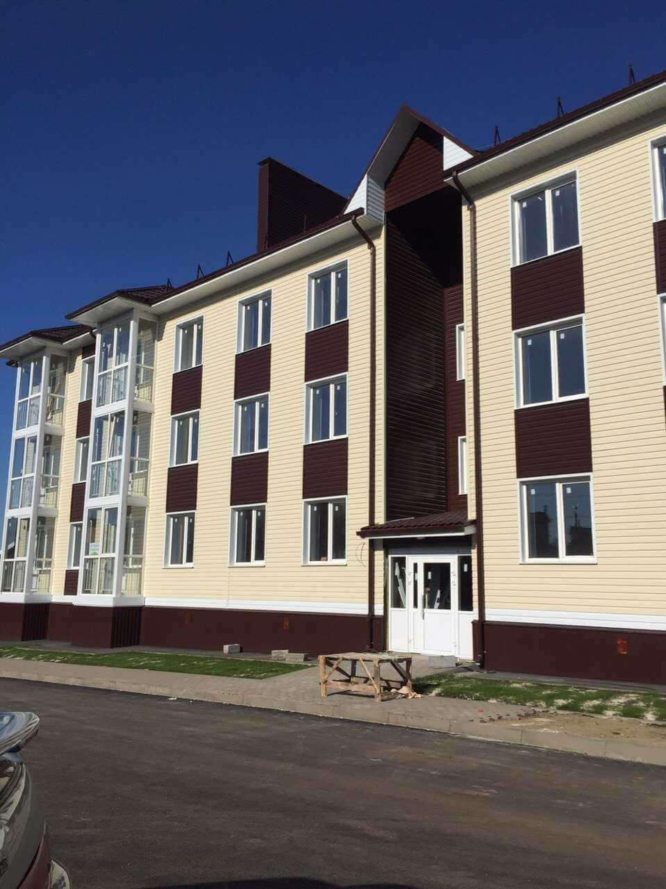 "Квартира, с. Репное, мкр. ""Парус"", ул. Лодочная, д.16, 2 этаж, кв. 14"