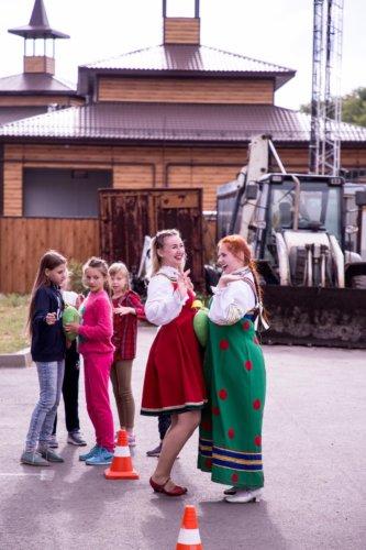 "Программа для детей: ""Пришел Спас, нам дары припас!"""